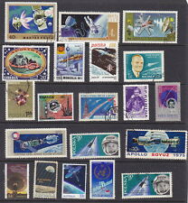 20 All Different Fantastic Space Stamps