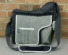 JJ COLE COLLECTIONS Method Messenger, Diaper Stroller Bag +Changing Pad & Straps