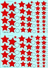 KV Decals 1/48 SOVIET EARLY RED STARS TYPE 3 Russian National Markings