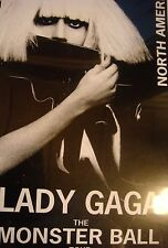 Lady Gaga Production Tour Book Monster Ball MAKE AN OFFER!