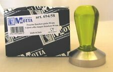 Motta Tamper 694 Kaffeestampfer, 58mm, 58 mm plan Rainbow gelb