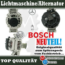 MERCEDES BENZ W202 S202 LICHTMASCHINE ALTERNATOR 90A ORIGINAL BOSCH NEW NEU !!!