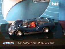 PORSCHE 906 CARRERA 6  1965 KDW 711 COLLECTION DARK BLUE BLEU FONCE 1/43