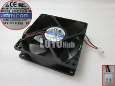 NEW jamicon JF0825S2H-R Server Square Fan DC 24V 0.15A 80X25mm 2wire 2-Pin 80mm