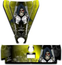 Graphic Decal Kit Canam Commander Can Am Hood Tailgate Reaper Revenge Yellow