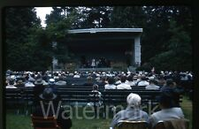 1961 Kodachrome Photo slide  Victoria BC Canada Outdoor Concert