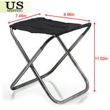 Portable Folding Aluminum Chair Outdoor Stool Seat Fishing Camping Travel Picnic