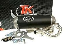 Exhaust Sport With E Characters Turbo Kit GMax 4T for Suzuki Burgman 125i 150i