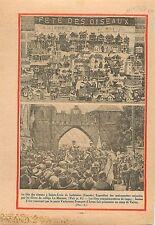 Sainte-croix-de-lotbinière Québec Canada/Fêtes de Jeanne d'Arc 1930 ILLUSTRATION