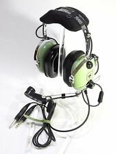 NIB DAVID CLARK H10-30 HEADSET GA/Dual Plugs  p/n 12508G-17 AUTHORIZED DEALER