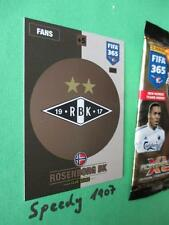 Panini Adrenalyn FIFA 365 NORDIC Edition Wappen Logo Club Badge Rosenborg 230