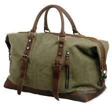 Canvas Travel Handbag Sports Weekend Overnight Carry-on Duffel Gym Bag Luggage