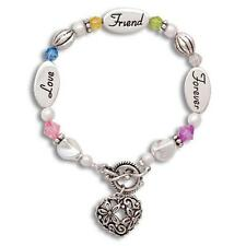 Expressively Yours : Sterling Silver FRIEND bracelet LOVE FOREVER FRIEND Jewelry