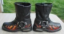 XElement Women's Flame Harness Water Repellent / Motorcycle Riding Boots Size 6