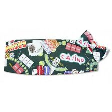 Vegas Casino Games Cummerbund and Bowtie Set