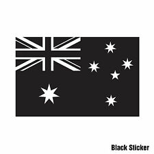 SINGLE COLOUR AUSTRALIAN FLAG 140mmW Sticker Decal Ute Car Boat Commodore SS