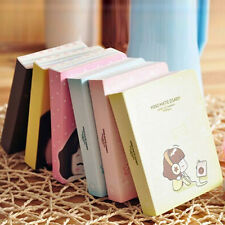1x Little Book Diary Planner Journal Scheduler Organizer Agenda Cute Kawaii O18