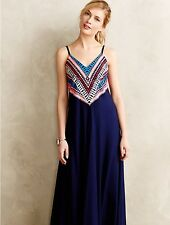 Rare Anthropologie Prism Point Maxi Dress Gown by Mara Hoffman S Retails $398.00
