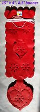 Mexican Papel Picado Sacred Heart Accordion Flags Bunting Paper Banner