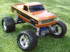 1972 Chevy C10 Custom Painted TRAXXAS NITRO STAMPEDE 1/10 RC MONSTER TRUCK