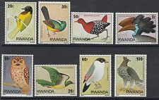 BIRDS :RWANDA 1980 Birds set  SG 956-963 never-hinged mint