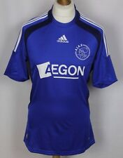 AISSATI #11 VINTAGE AJAX AMSTERDAM AWAY SHIRT 08-09 ADIDAS RARE MENS MEDIUM