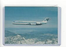 Finnair airlines issued DC-9/50 cont/l  postcard