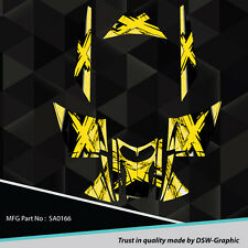 SLED WRAP GRAPHICS KIT DECAL STICKERS SKI-DOO REV MXZ SNOWMOBILE 03-07 SA0166