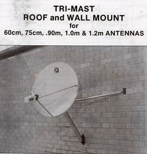 Heavy duty All-purpose Tri-pod mount for wall or roof
