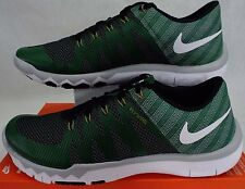 New Mens 10 NIKE Free Trainer 5.0 V6 AMP Michigan State Shoes $110 723939-317