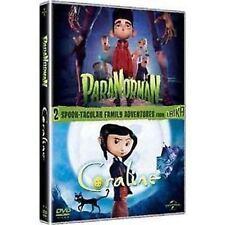 Paranorman & Coraline e la Porta Magica 2 DVD Cofanetto Nuovo 2 Film Laika