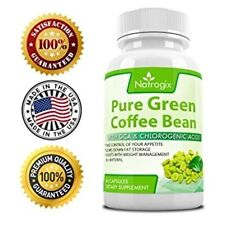 Natrogix Purely Natural Green Coffee Bean /w GCA For Fat Burning/Weight Loss 60d