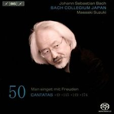NEW Bach: Cantatas, Vol. 50 - Bwv 49, 145, 149, 174 Super Audio... CD (CD)