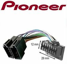 CABLE ISO ADAPTATEUR AUTORADIO PIONEER 16 PIN SERIE DEH-P COMPLET QUALITE 16PIN