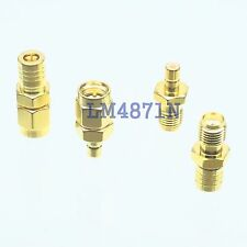 Kit Adapter 4pcs/set SMB to SMA type male female RF connector Test converter