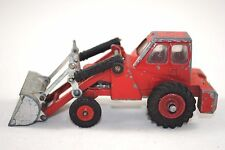 Dinky 437 MUIR-HILL 2wd Farm Tractor w/ FRONT LOADER in TAYLOR WOODROW Livery GC