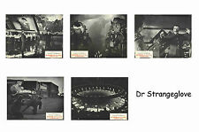 DR STRANGELOVE - SET OF 5 A4 SIZED REPRINT LOBBY POSTERS