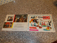 ALBUM DISNEY RAMA ED.LAMPO 1973 COMPLETO OTTIMO CON TOPOLINO PAPERINO PAPERONE