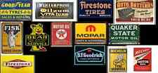 ho scale tire and lube building shop decals