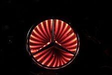 Newest LED logo Light badge for MERCEDES RED color USA SHIP