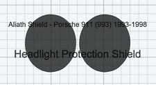 Porsche 911 993 Headlight Shield Clear Stone chip Guard Protection Decals Foils.