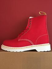 DR MARTENS Page Boots True Red size Uk 7 Eu 41 BRAND NEW WITH BOX!!