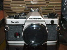 OLYMPUS OM-4T CHROME CAMERA BODY NEW IN BOX