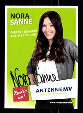 Nora Sanne Autogrammkarte Original Signiert # BC 76773