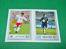 N°124 LEE YOUNG-PYO 39 ABBONDANZIERI PANINI FOOTBALL GERMANY 2006 MINI-STICKERS