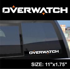 Overwatch logo lettering  symbol decal sticker