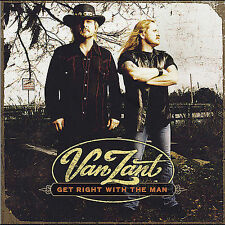 Get Right with the Man by Van Zant (CD, May-2005, Sony Music Distribution USANEW