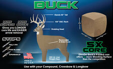 GlenDel Buck 3D Deer Target PolyFusion 4 sided Core # 71000