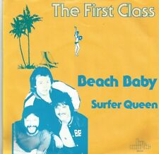 First Class - Beach Baby / Surfer Queen (Vinyl-Single 1983) !!!