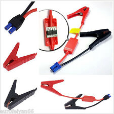 2in1 Alligator Clamp Lead Clips For 20000mAh Car Power Bank Jump Starter Battery